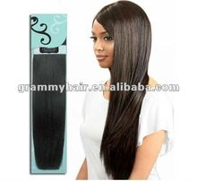 2012 hot sell high quality 100 human hair extensions sew in hair extensions for black women