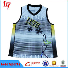 Customized college sublimation basketball uniform youth basketball jerseys