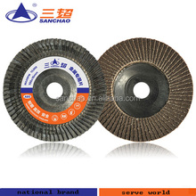 Polymeric Carbon Plastic Backing Paper Flap Disc