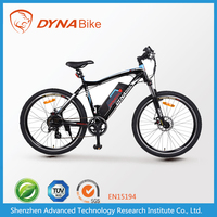 "Powerful long range aluminum frame 26"" ebike electric mountain bike for sale"