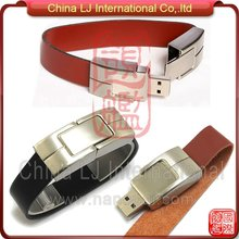 promotional gifts Leather bracelet USB Flash Drive