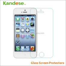 Factory sale- price Premium Tempered Glass Screen Protector For Iphone 5/5S