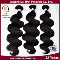 Hot New Products for 2015 No Shedding Tangle High Quality 100% pure virgin indian remy human hair weaving