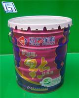 18liter solvent tin bucket lubricant gasoline bucket