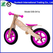 Wood balance bike for kids wooden bike wheel