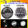 7 inch round led headlight 12v 24v h4 led high low beam headlight accessories for jeep wrangler