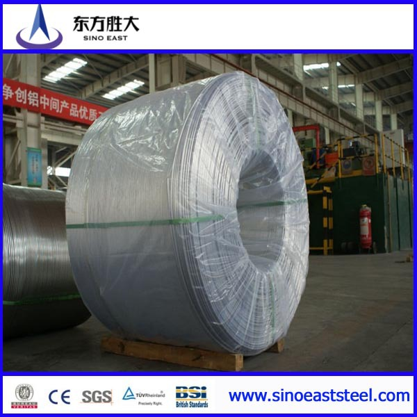 EC aluminum wire rod with diameter of 9.5, 12, 15mm, for different usage