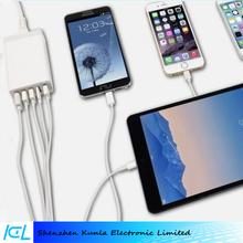 2015 office use 40w 5 Usb Port 5v 8a fast Charging Station,Multi Port Usb For Mobile Phone & Tablet