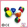 ICTI Factory new design and nice vinyl stuffed juggling balls