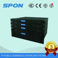 IP sound system for hotel