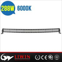 Liwin China brand 2015 new design 51 inch 288w 4x4 lw led light bar automotive types,51 inch led light bar