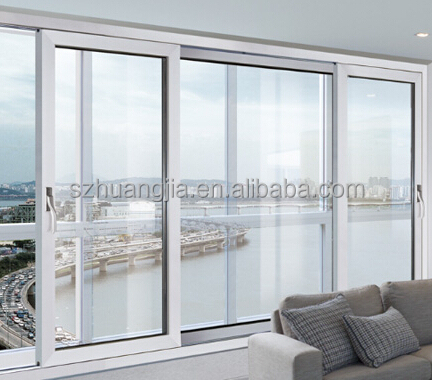 Modern Veranda Exterior Aluminium Frame Roof Sliding Glass Windows ...
