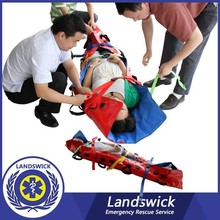 Patient Transport Aluminum Alloy Ambulance Stretcher cheap price electric wheelchair