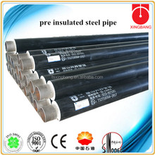 spiral welded steel pipe with hdpe coated pipe for chilled water insulated pipe