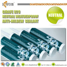 Girafe 928 Neutral Weatherproof Anti-midrew anti-mold silicone glazing caulk