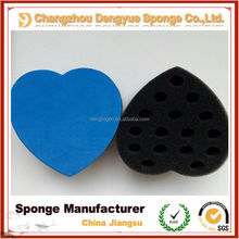 2015 Best sell professional salon hair brush twist sponge/two sides polyurethane Hair Twist brush /man hair sponge
