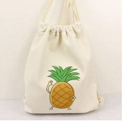 Italian Designer Shoes And Bags Cheap Wholesale Cotton Muslin Drawstring Shopping Bag