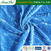 95% polyester 5% spandex knitted ice spun velvet cloth textile fabric,shoes,pants,alibaba manufactory