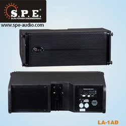 pro 300W dual 6.5 inch mini line array speaker active speakers system for sale