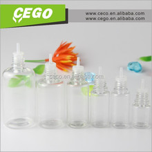 2015 ISO8317 30ml PET clear e-juice liquids nicotine plastic dropper bottle wholesale with childproof &tamper proof cap JB-242