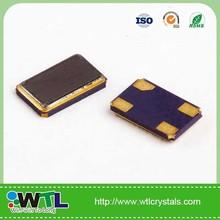 Smd 3.2 * 2.5 mm 4 pad 29.498 MHz cristal de cuarzo oscilador usd en Fast Ethernet MII reloj