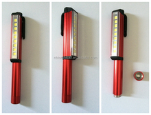 9 SMD Aluminum Pen Working Light with Magnet Made In China