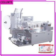 Todo natural tejido húmedo scott papel higiénico máquina de envolver