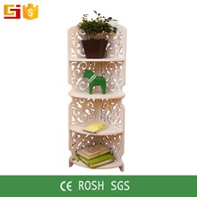 Diy organizer small plastic decoration cube shelf