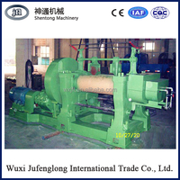 """22"""" Good quality two roller open mixing mill CE certification, raw rubber processing machine X(S)-550A"""