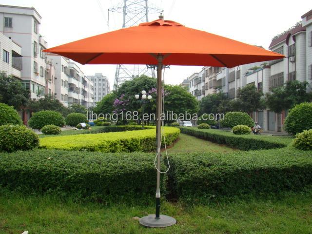 Outdoor Cantilever Garden Umbrella For Sale Lotus Flower