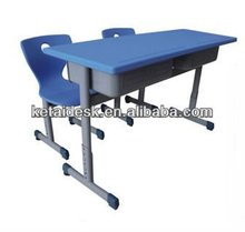 Used school student shelf desk and chair