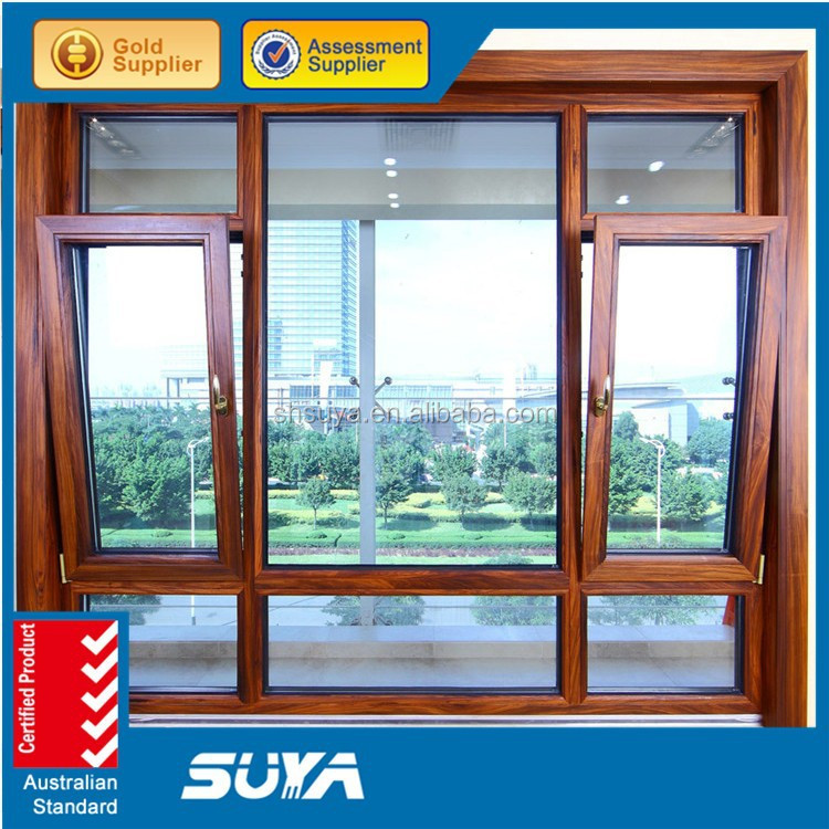 Hot Products Aluminum Casement Window With Double Glazing