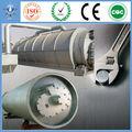 Máquinas camiones neumáticos de pirólisis y desechos de destilación a diesel de ciudad industrial en China