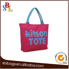OEM factory price production shopping tote bag ,custom standard size canvas tote bag