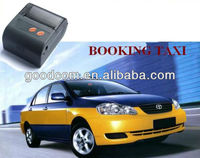 2015 Hot Pocket Size Taxi Printer Mini Bluetooth Printer with Car Charger Bluetooth, USB, RS232 supported