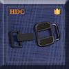 small plain black belt buckle for cloth