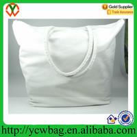 High quality shenzhen cheap beach bag utility blank canvas bag