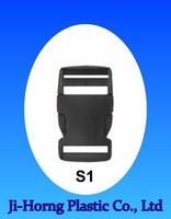 plastic quick release seat belt buckle clip