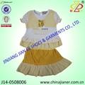 Jianer nova chegada 100% de verão de algodão barato da marca de roupas infantis
