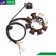 For FINO 8 Poles Copper Cable Magneto Stator Coil Motorcycle Magneto Coil
