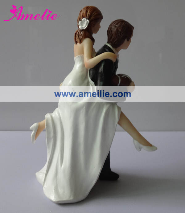 A07401New Arrival Bride Groom Chinese Wedding Cake Topper View Chinese Wedding Cake Topper