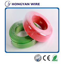 CE certificate pvc insulated electrical cable wire