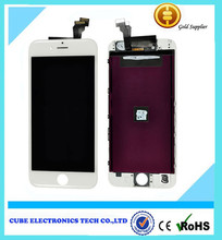 For iPhone 6 touch screen lcd +digitizer +frame assembly, for iPhone 6 full lcd digitizer
