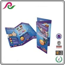 wholesale custom promotional brochure sample