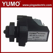 SC-40 3A 240V 12V SPST or SPDT low pressure switch gas water oil air low pressure cut off switch