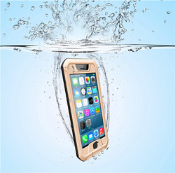 2015 hot products real waterproof case underwater case for iphone 6