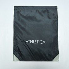2015 High Quality Athletica Handsome Black modern design Drawstring bag suitable for every awesome people