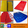 Machine of vibrating screen polyurethane sieve screen mesh for copper