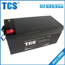 TCS hot sell ups VRLA 12v 250ah battery