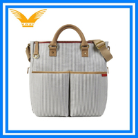 Stylish Polyester Tote Organizer Baby Diaper Bag